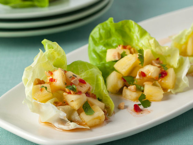 Thai-style pineapple snack by sandhirarecipes