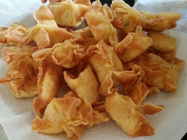 Crab Rangoon & Sweet and Sour Sauce by Sarah Kurniawan