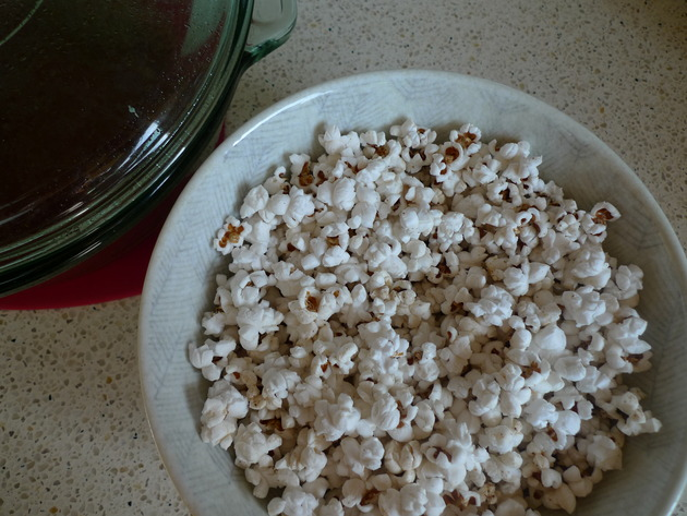 popcorn (the casserole dish method) by joanie