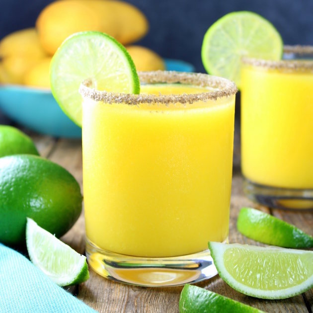 Smoky Mango Margarita  by TasteAndSee