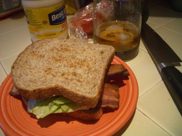 Classic BLT Sandwich by hulagun