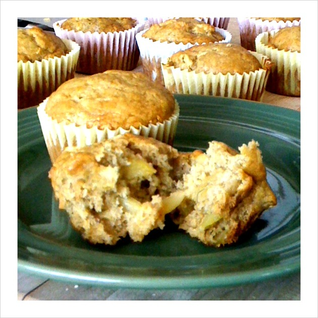 Apple Banana Muffins by car2ngrl