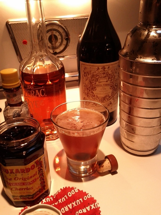 The Perfect Manhattan Recipe — Dishmaps