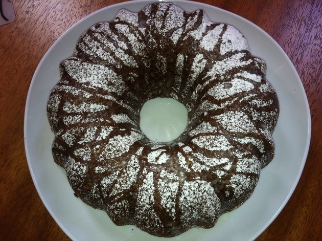 Honey Apple Bundt Cake by Tara