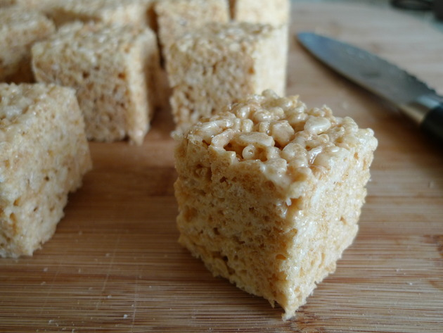 Salted Brown Butter Rice Krispies Treats Recipe   Cookooree
