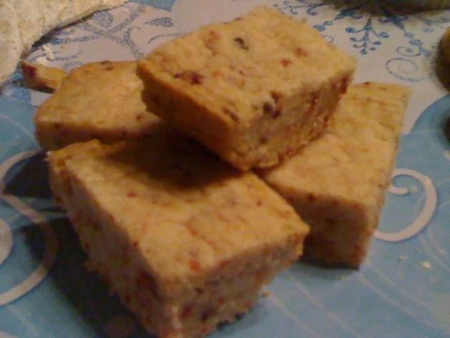 Dried Cranberry Shortbread Recipe | Cookooree