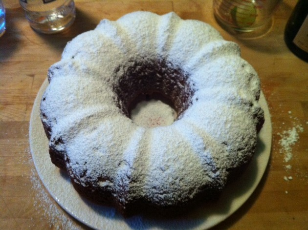 Mom's Olive Oil Orange Bundt Cake by belinda