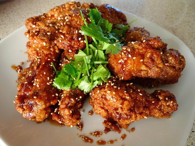sticky sweet chicken wings by joanie