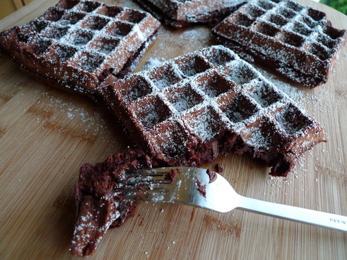 Chocolate Waffles Recipe | Cookooree