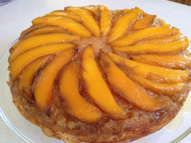 Mango Upside-Down 7-up Cake by car2ngrl