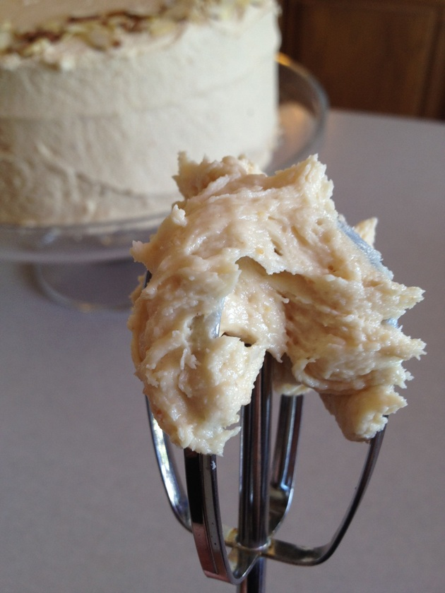 Peanut Butter & Banana Buttercream Frosting by car2ngrl