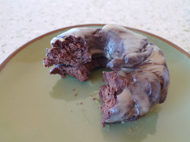 chocolate old-fashioned doughnuts by joanie