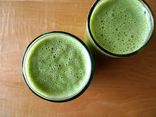 arugula smoothie by joanie