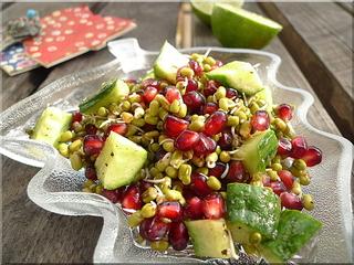 Green-gram-salad