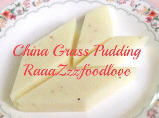 China_grass_pudding