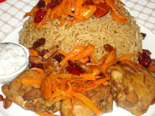Kabuli_chicken_pulao