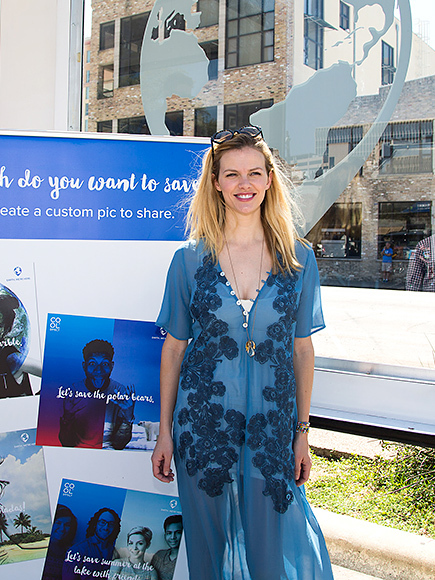 Brooklyn Decker Takes Action Against Climate Change at COOL EFFECT`s #LetsSave Mobile Event during SXSW