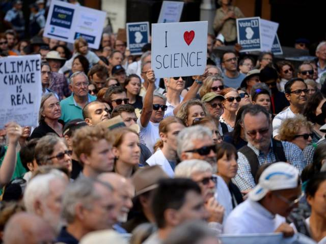March for Science in Sydney