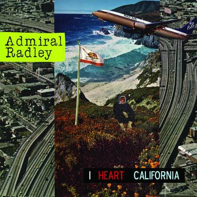 Admiral Radley I HEART CALIFORNIA CD
