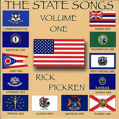 rick pickren STATE SONGS 1 CD