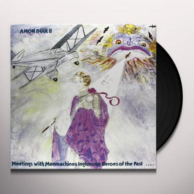 Amon Duul MEETINGS WITH MENMACHINES Vinyl Record