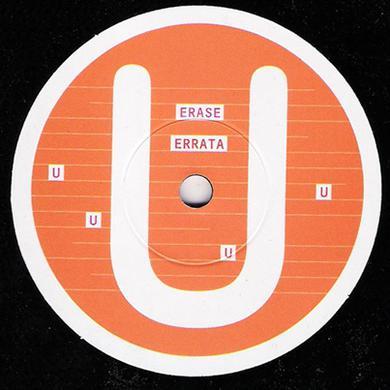 Erase Errata ALPHABET SERIES-U- Vinyl Record