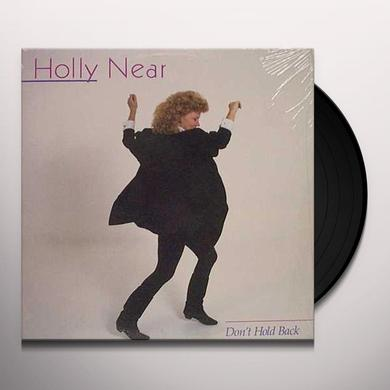 Holly Near DON'T HOLD BACK Vinyl Record