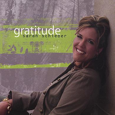 Sarah Schieber GRATITUDE CD