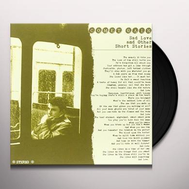 Comet Gain SAD LOVE & OTHER SHORT STORIES Vinyl Record