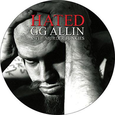 Gg Allin HATED Vinyl Record - Picture Disc