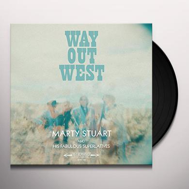 Marty Stuart WAY OUT WEST Vinyl Record
