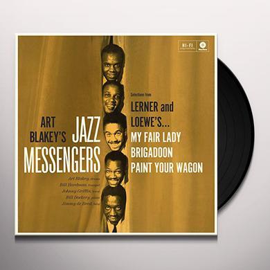 Art Blakey / Jazz Messengers PLAY LERNER & LOEWE Vinyl Record - 180 Gram Pressing, Spain Release