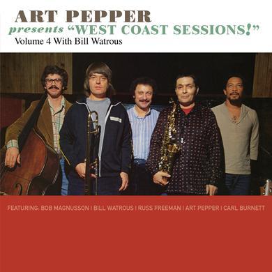 Art Pepper PRESENTS WEST COAST SESSIONS VOL 4 CD