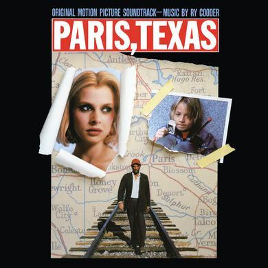 Ry Cooder PARIS TEXAS - ORIGINAL MOTION PICTURE SOUNDTRACK Vinyl Record