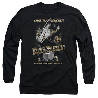 Elvis Presley The King Rock White Glow Big Boys T-Shirt Tee