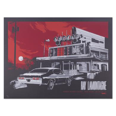 Ray Lamontagne 2014 Los Angeles, CA Event Poster
