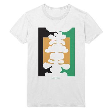 Fleet Foxes Abstract Tee - White