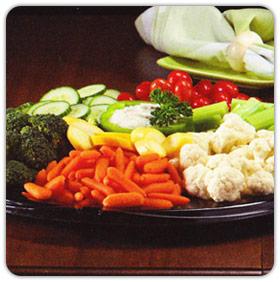 Garden Fresh Vegi Platter