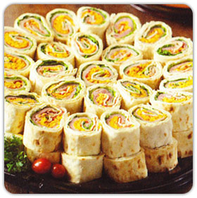 Party Pinwheel Platter