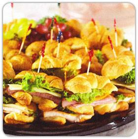 Petite Croissant Sandwich Platter