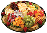 Gourmet Fruit and Cheese Tray
