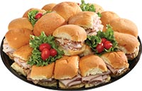 Dollar Roll Sandwich Tray