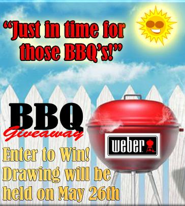 Weber BBQ Giveaway