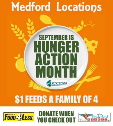 ACCESS Hunger Action Month
