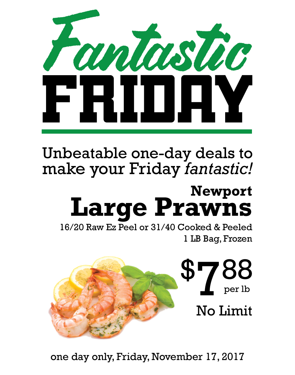 Fantastic Friday Deal
