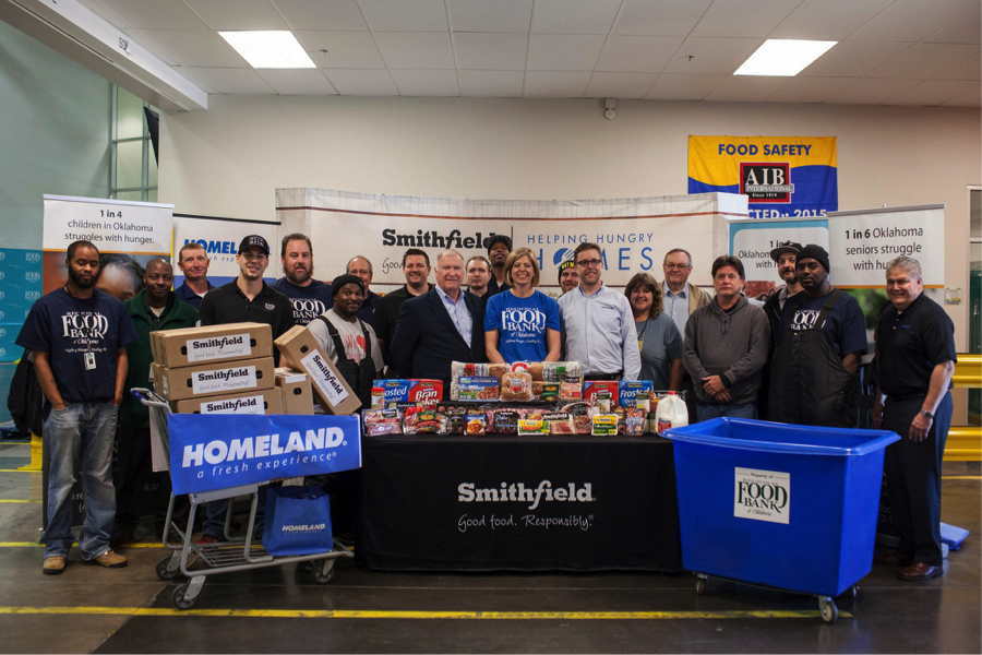 Homeland Food Bank Donation