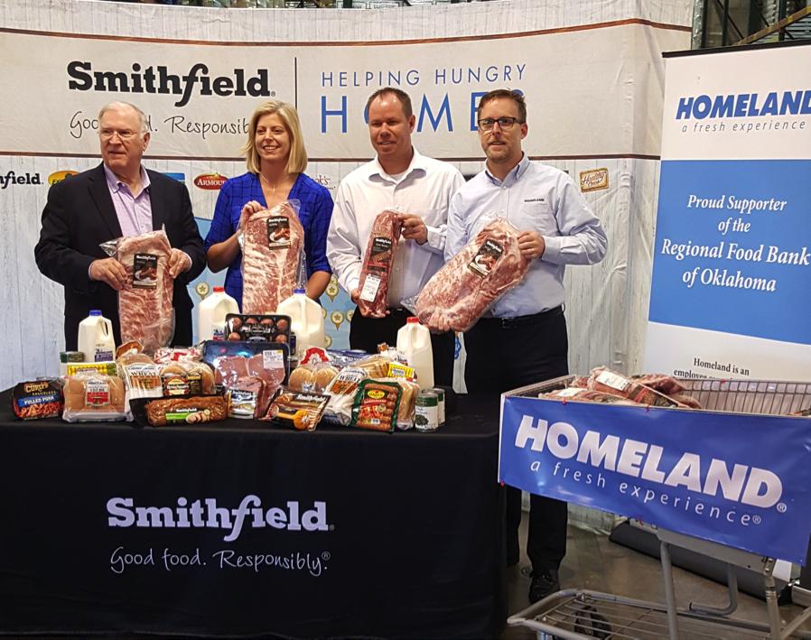 Homeland Smithfield Donation
