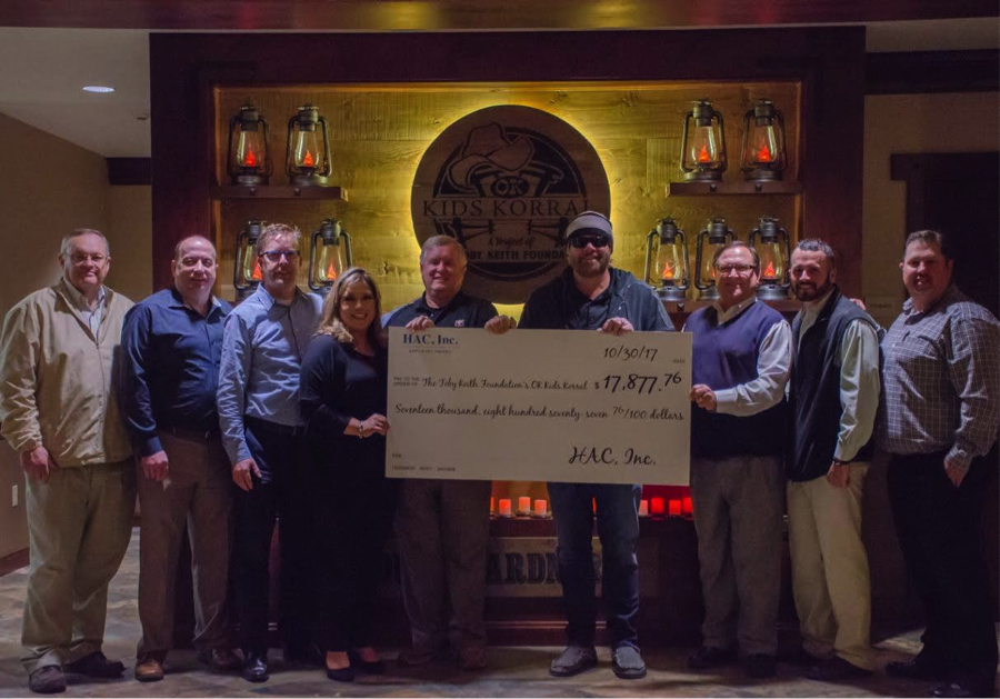 Donation to Toby Keith Kids Korral
