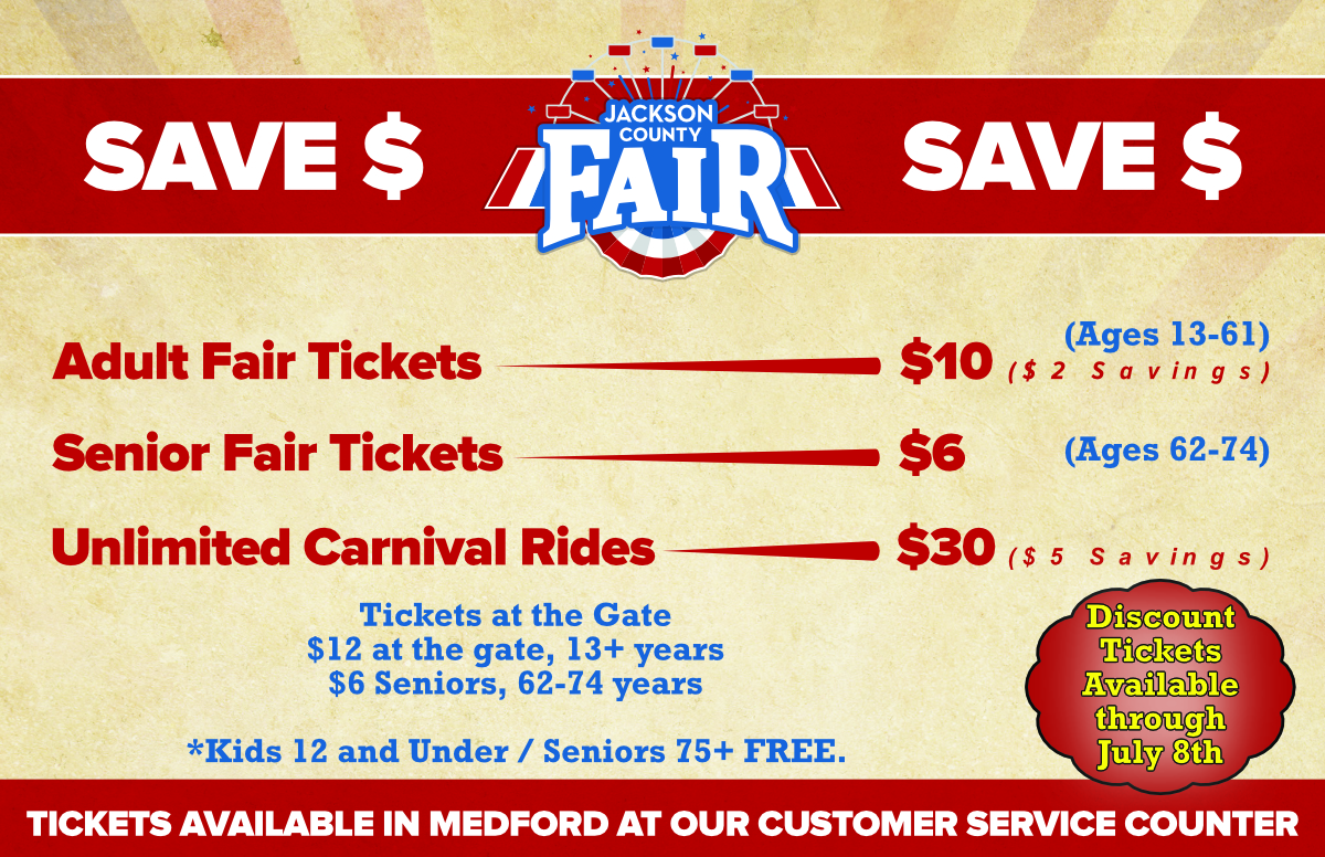 Jackson County Fair Ticket Information