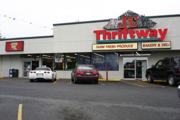 Toledo JC Market Thriftway Storefront
